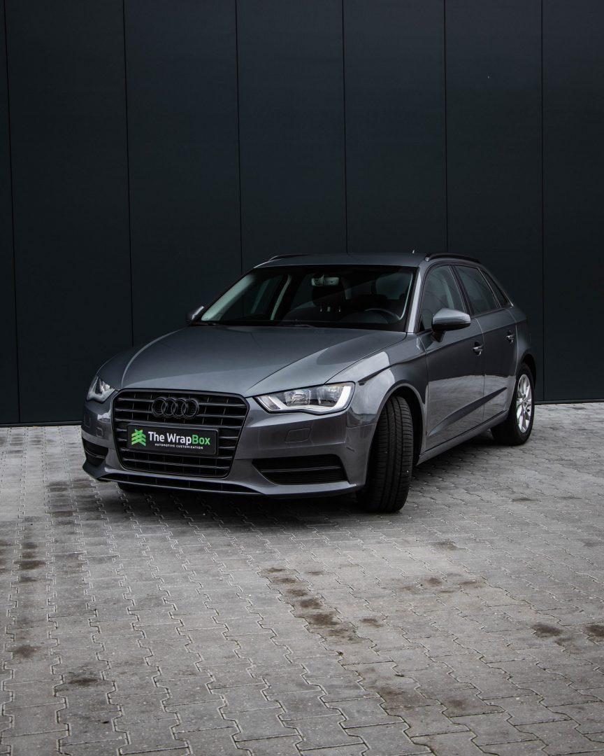 Audi chrome delete
