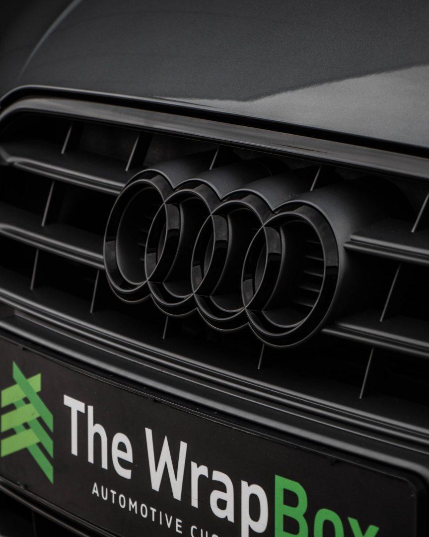Audi Logo Zwart